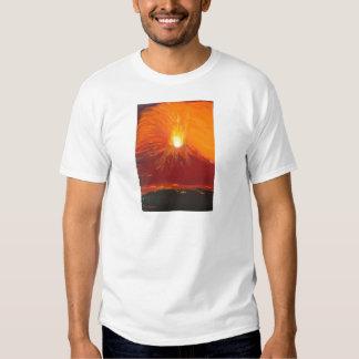 Volcanic eruption t shirt