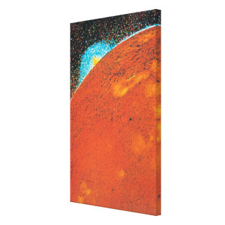 Volcanic Explosion on Io Canvas Print