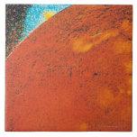Volcanic Explosion on Io Ceramic Tile