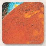 Volcanic Explosion on Io Drink Coaster
