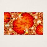 Volcanic Garden - Fractal art Business Card