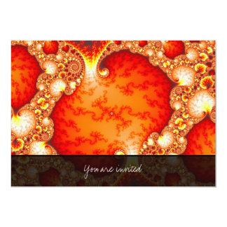 Volcanic Garden - Fractal art Card