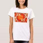 Volcanic Garden - Fractal art T-Shirt