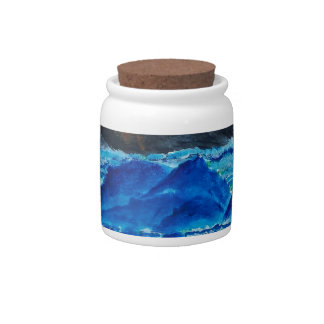 Volcanic Islands Candy Jars