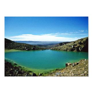 Volcanic Lake, Tongariro National Park, North Isla 5x7 Paper Invitation Card
