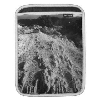 Volcanic landscape iPad sleeve