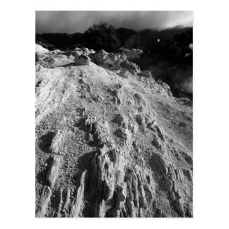 Volcanic landscape postcard