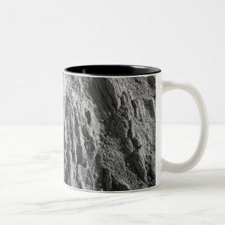 Volcanic landscape Two-Tone coffee mug