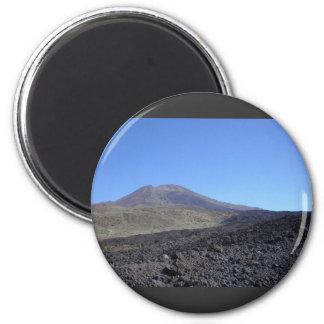 Volcanic Mountain Fridge Magnet