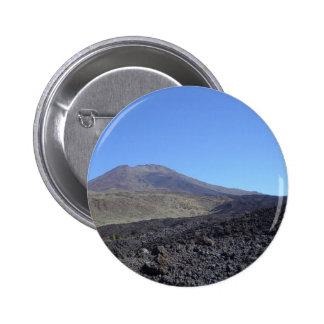 Volcanic Mountain Pinback Button