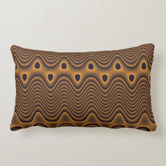 Volcanic Oceans Patterned Pillow