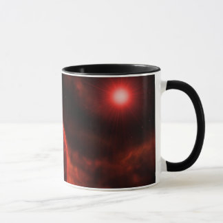 Volcanic Planet Mug