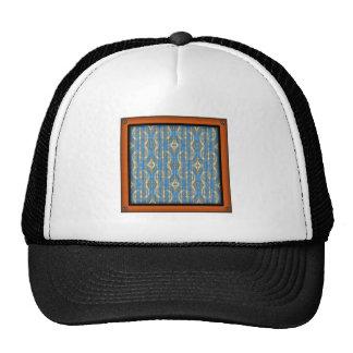 Volcanic Rock Formation Seamless Illusion Trucker Hat
