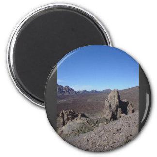 Volcanic Scenery Fridge Magnet