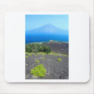 Volcanic slopes of Anak Krakatau, West Java Mouse Pad