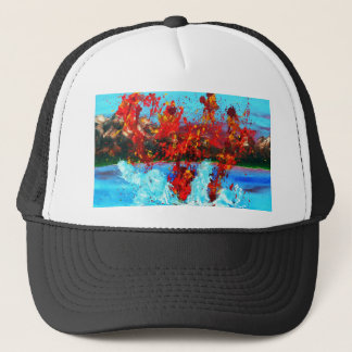 Volcanic Sneeze.jpg Trucker Hat