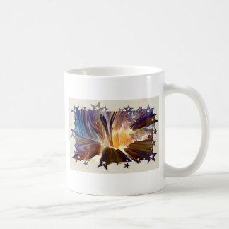 Volcanic Stars Fractals Coffee Mug