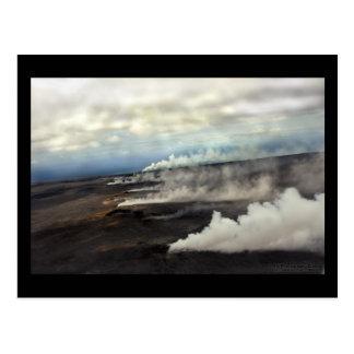 Volcanic Steam Vents - Hawaii Postcard