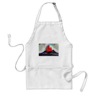 Volcano 7 enamel apron