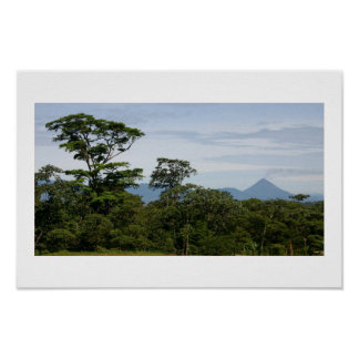 Volcano Arenal Costa Rica Poster
