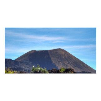 Volcano at  Parícutin, Photo Card