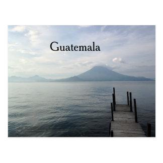 Volcano by Lake Atitlan Guatemala Postcard