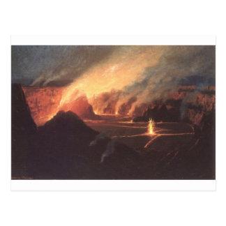 Volcano, ca. 1880s Hawaii Postcard