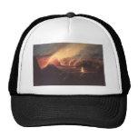 Volcano, ca. 1880s Hawaii Trucker Hat