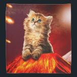 """volcano cat ,vulcan cat , bandana<br><div class=""""desc"""">pet , cat , kittens , &quot;cute cats&quot; , &quot;tabby cat &quot;, kitty , &quot;funny cats&quot; , &quot;kitty cat&quot; , &quot;cat volcano&quot; , volcano , </div>"""