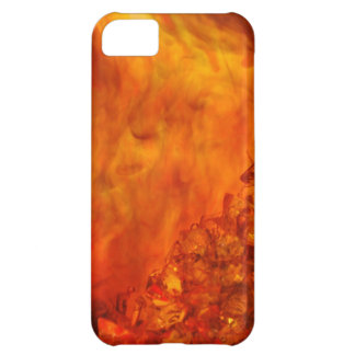 """""""Volcano"""" collection original Lyrical Abstraction iPhone 5C Case"""