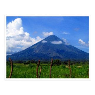 volcano concepcion postcard