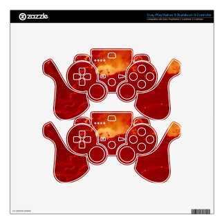 Volcano Congo Mountain Fire Fireworks Energy Blow Skins For PS3 Controllers