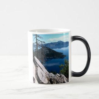 Volcano Deep Blue Crater Lake Oregon USA Magic Mug