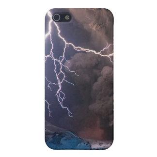 Volcano eruption case for iPhone SE/5/5s