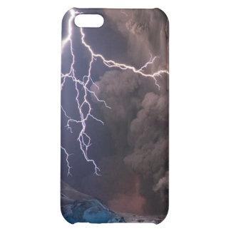 Volcano eruption case for iPhone 5C