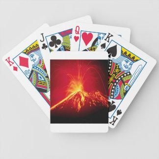 Volcano Hot Lava 1991 Costa Rica Card Deck