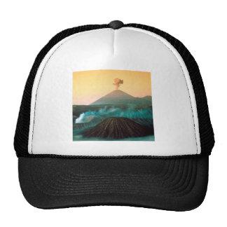 Volcano Indonesian Eruption Trucker Hat