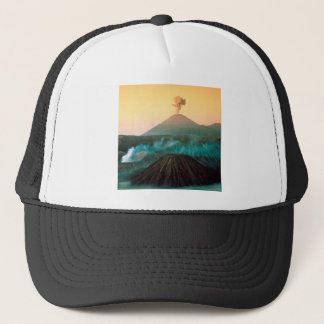 Volcano Indonesian Eruption Trucker Hat