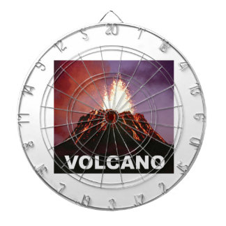 Volcano joy dartboard with darts
