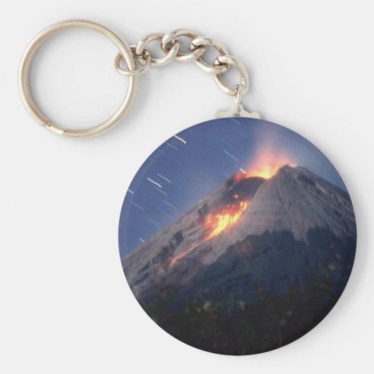 Volcano Keychain