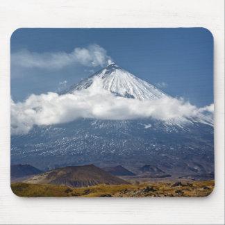 Volcano Klyuchevskaya Sopka on Kamchatka Peninsula Mouse Pad
