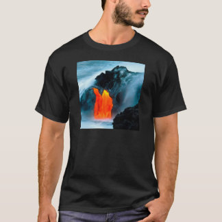 Volcano Lava Flow From Kilauea Hawaii T-Shirt