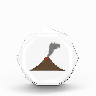 Volcano Mountain Acrylic Award