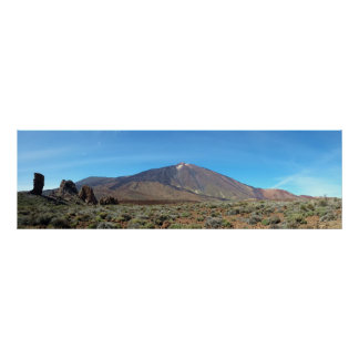 Volcano of the Teide - Tenerife - Canary 1 Poster
