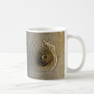 Volcano Olympus Mons on Mars Coffee Mug