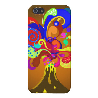 Volcano Oozing Of Color Case For iPhone SE/5/5s