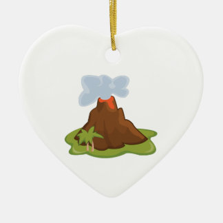 Volcano Christmas Ornament