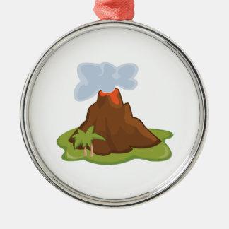 Volcano Christmas Ornaments