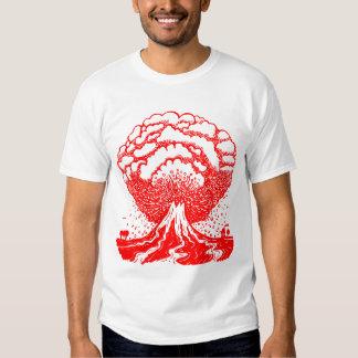 Volcano - Red T Shirt