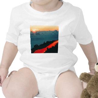 Volcano Reunion Island Lava Flow 1975 Shirt